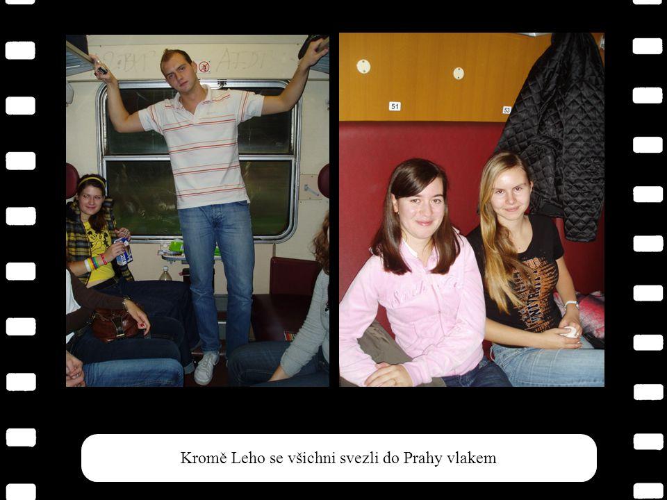 11 Výlet v Praze 4. – 6.10. 2007