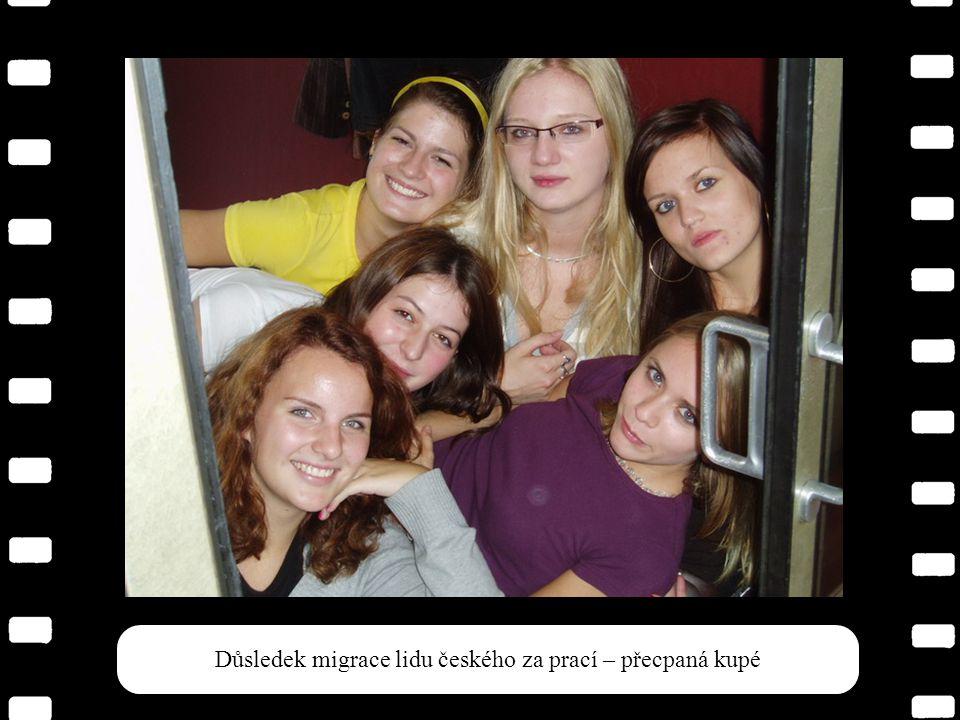 Kromě Leho se všichni svezli do Prahy vlakem