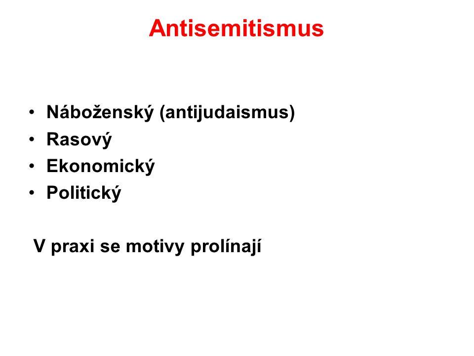 Ukázky: ...Největším protikladem árijce je Žid....