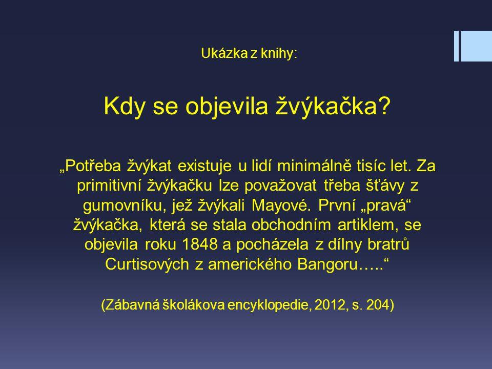 11.Upoutávka – úvod knihy: Dětská encyklopedie Co musíš vědět.