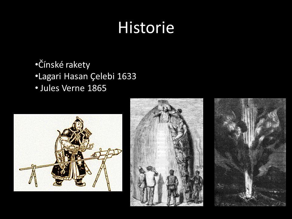 Historie Čínské rakety Lagari Hasan Çelebi 1633 Jules Verne 1865