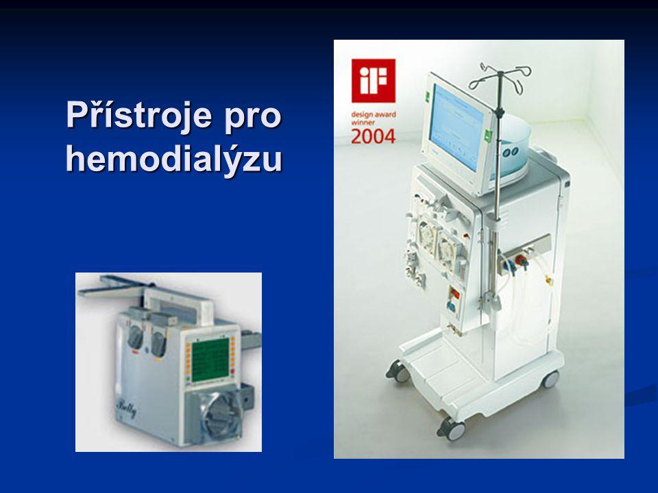 Přístroje pro hemodialýzu