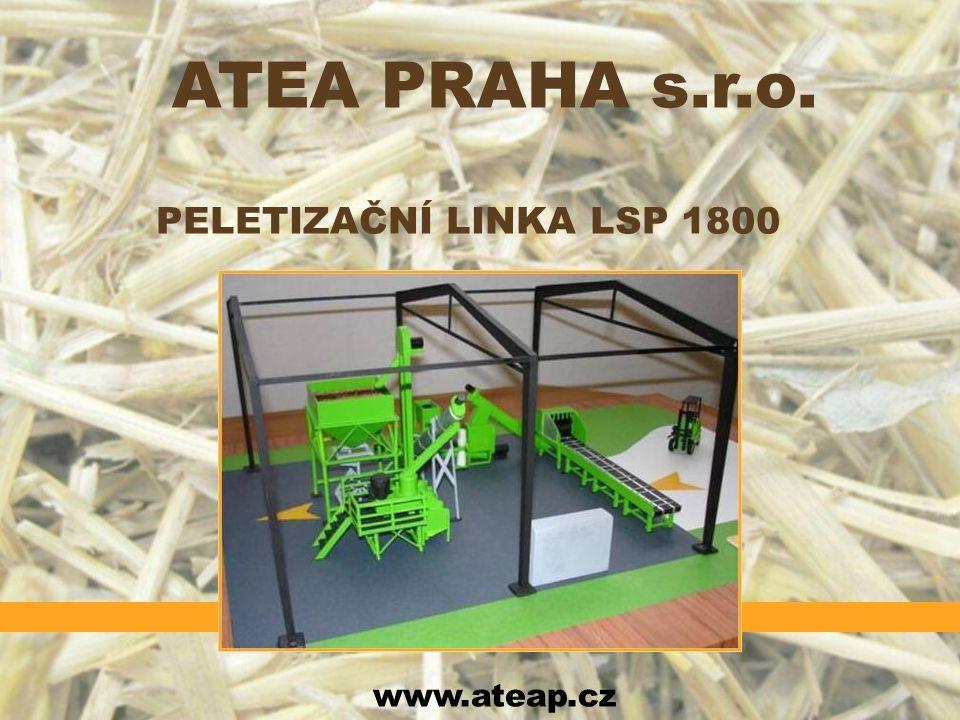 ATEA PRAHA s.r.o. PELETIZAČNÍ LINKA LSP 1800 www.ateap.cz