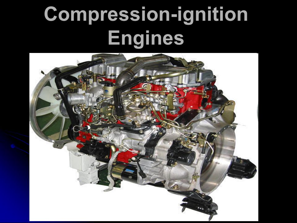 Compression-ignition Engines