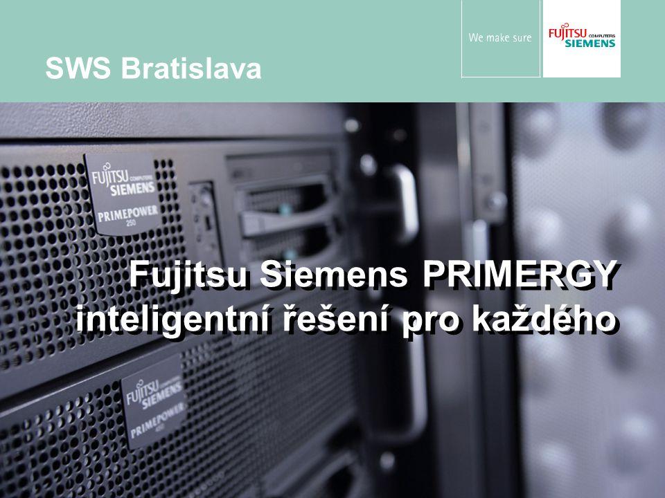 Jiří Lepka © Fujitsu Siemens Computers 2006 All rights reserved 22 PRIMERGY Econel200 server Podobné vlastnosti jako Econel100 Integrovaný RAID 1 řadič a ECC RAM Až 4 pevné disky Vysoká propustnost dat díky Gigabit Ethernetu Software pro nastavení a správu ServerStart a ServerView Certifikován pro mnoho OS Pozice serveru Econel200: více výkonu a rozšiřitelnosti 2 sockety pro Intel Xeon procesory Volba mezi SATA/SCSI disky PCI-X slots