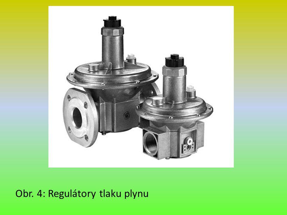 Obr. 4: Regulátory tlaku plynu