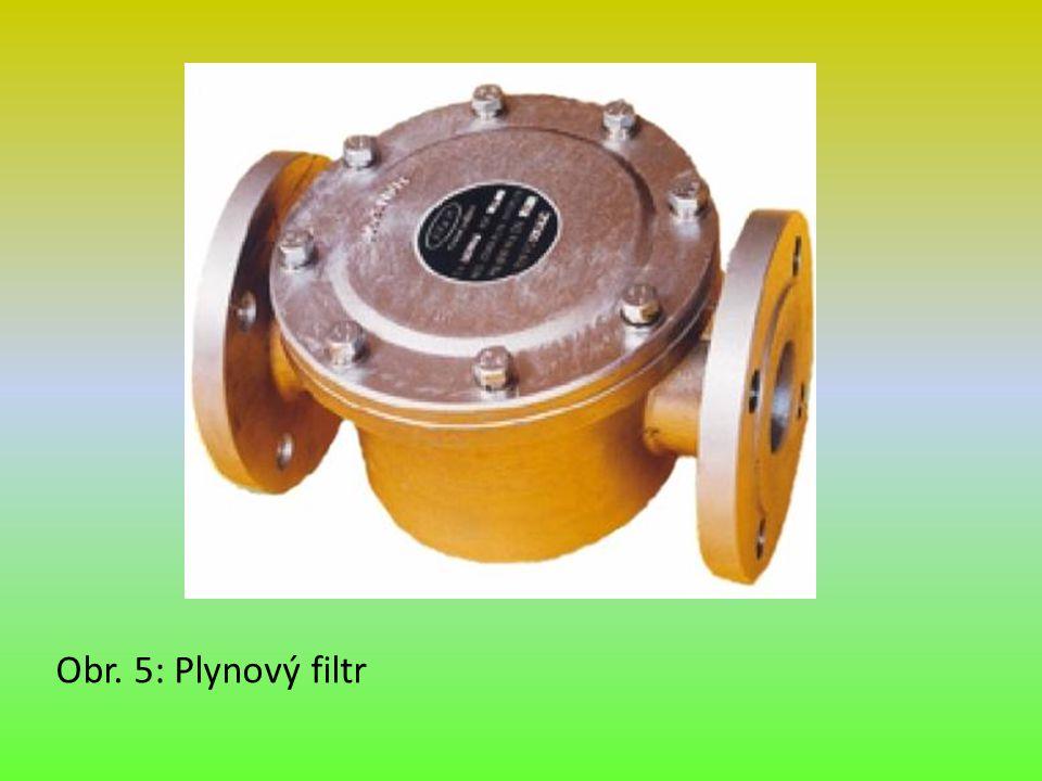 Obr. 5: Plynový filtr