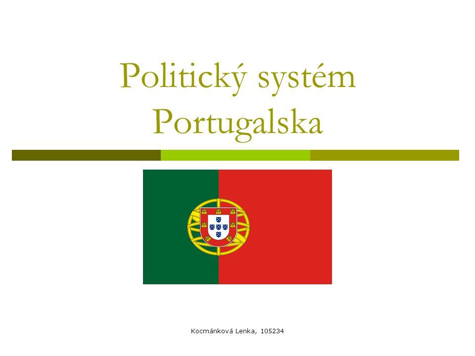 Základní údaje  Portugalská republika (República Portuguesa)  Hl.