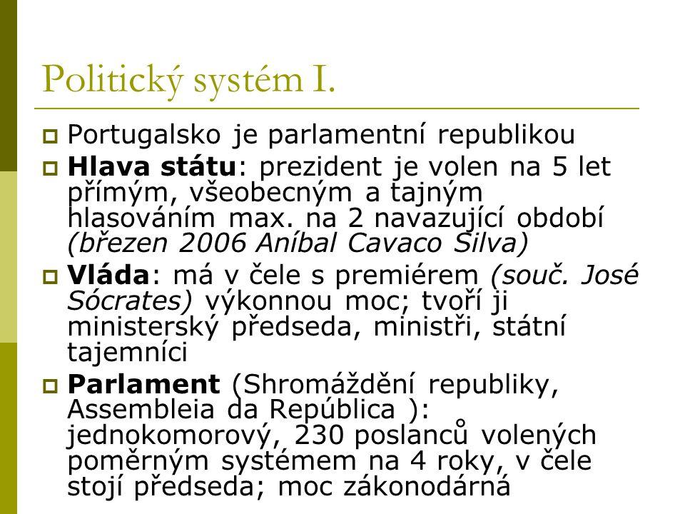 Politický systém II.