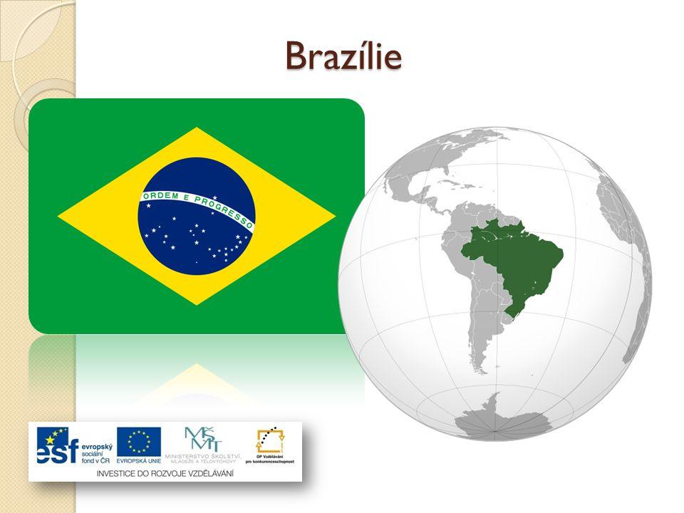 Brazilská federativní republika je největší a nejlidnatější stát Jižní Ameriky.