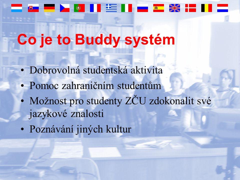 Realizace LS 2005/2006 - 29 zahraničních studentů Francie, Itálie, Německo, Portugalsko, Turecko, Španělsko, Velká Británie Tým studentů ZČU (Buddíci) Jeden Buddík pro 1-2 zahraniční studenty