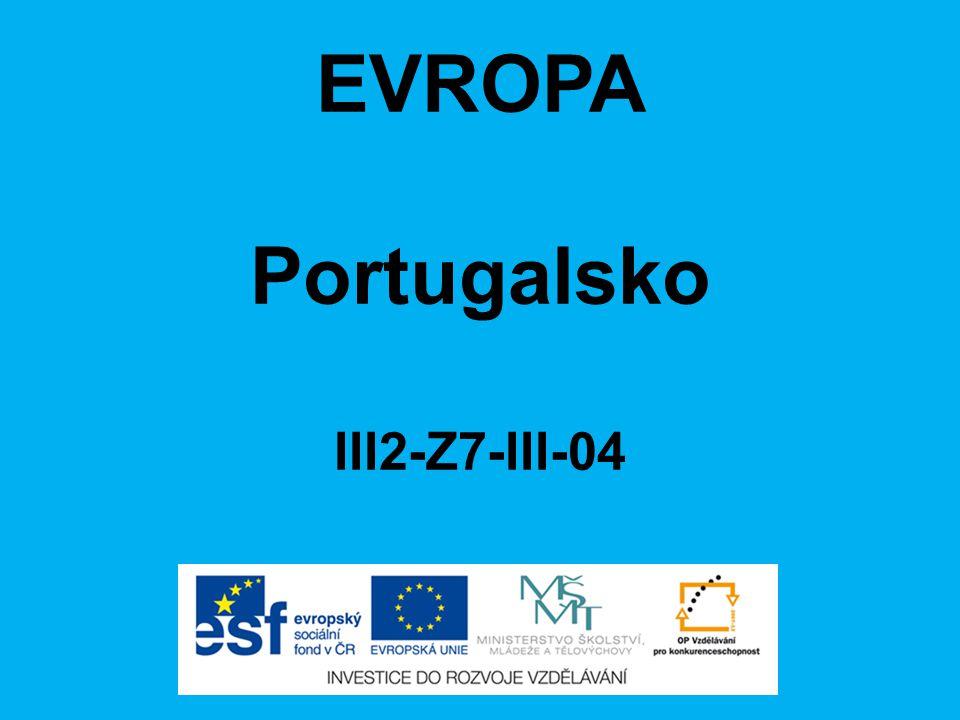 EVROPA Portugalsko III2-Z7-III-04