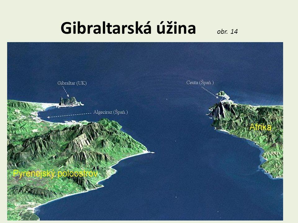Gibraltarská úžina obr. 14