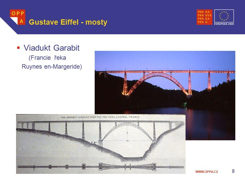 WWW.OPPA.CZ Gustave Eiffel - mosty  Viadukt Garabit (Francie řeka Ruynes en-Margeride) 8