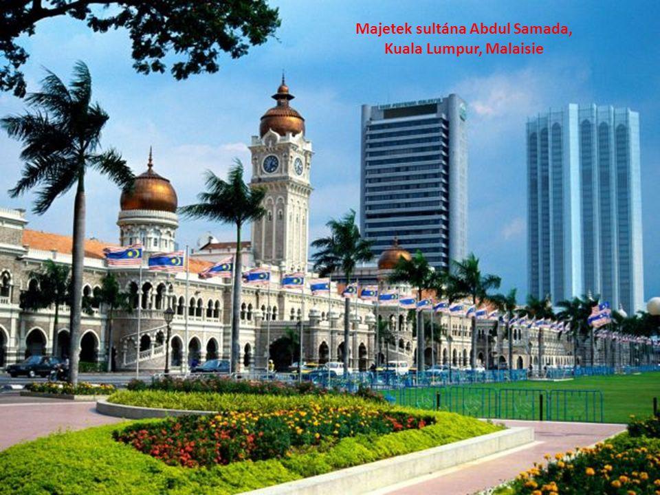 Majetek sultána Abdul Samada, Kuala Lumpur, Malaisie