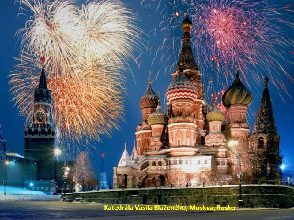Katedrála Vasila Blaženého, Moskva, Rusko