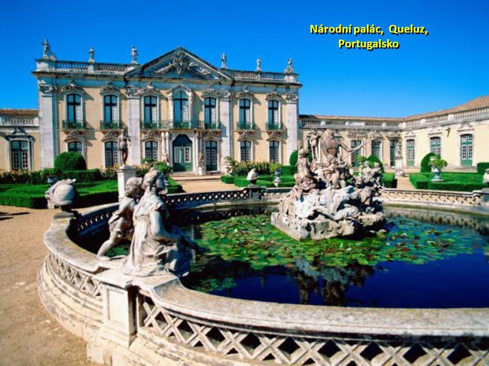 Národní palác, Queluz, Portugalsko