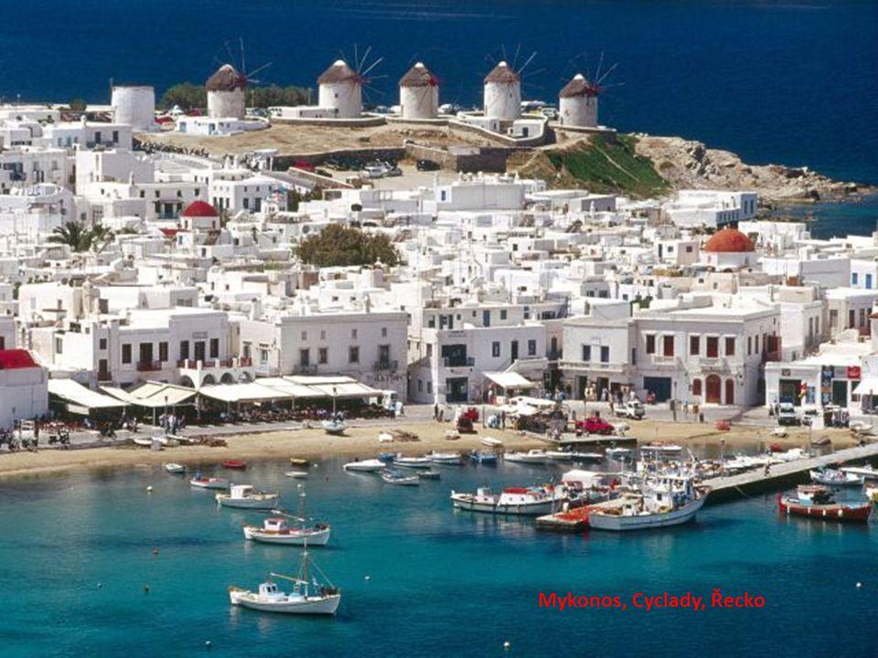 Mykonos, Cyclady, Řecko