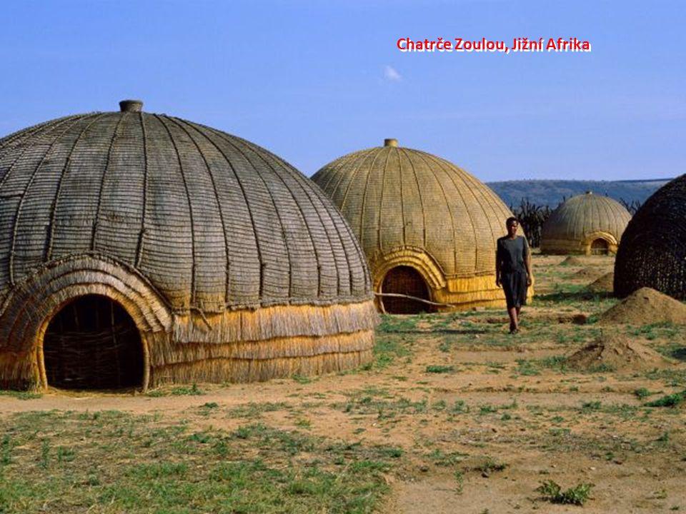 Chatrče Zoulou, Jižní Afrika