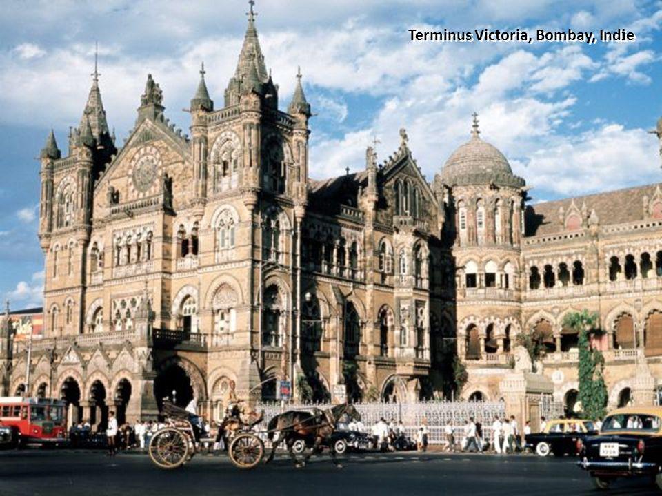 Terminus Victoria, Bombay, Ind i e