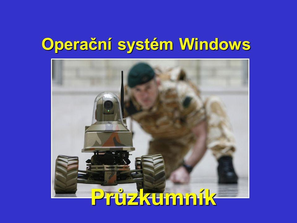 Průzkumník Operační systém Windows