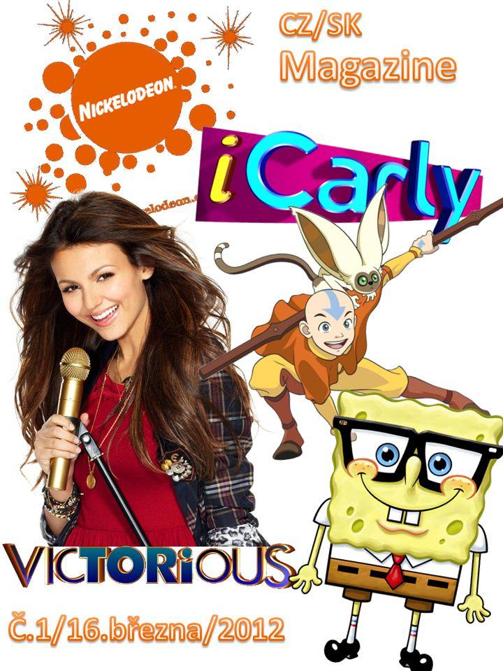 Představení časopisu: Nickelodeon CZ/SK Magazine Co bude na KID CHOICE AWARDS 2012 .