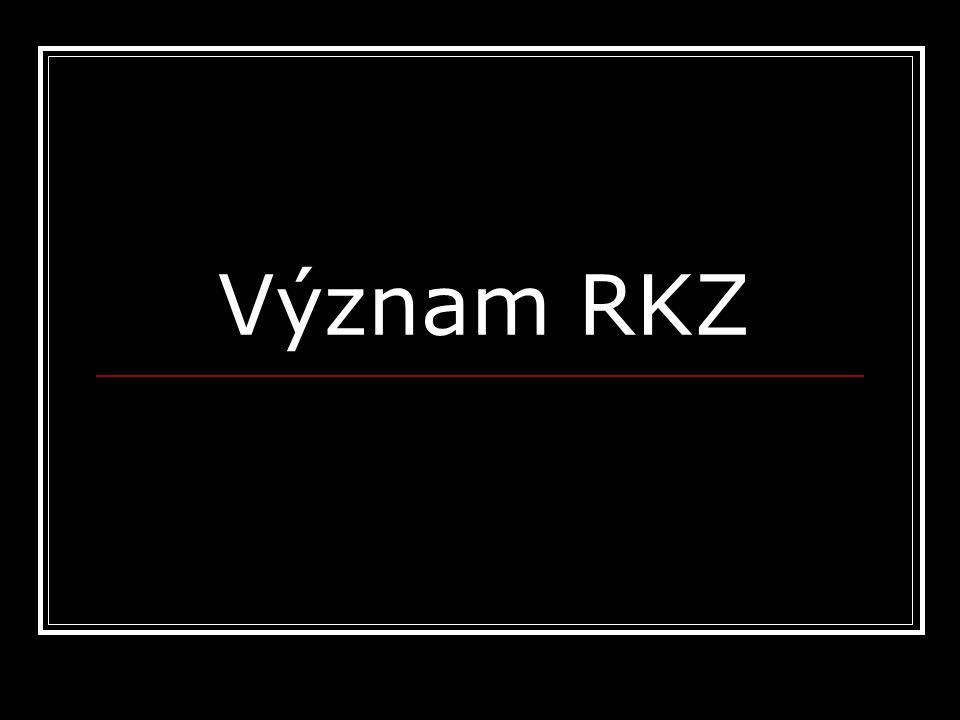 Význam RKZ