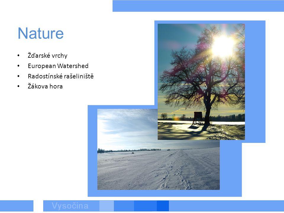 Nature Žďarské vrchy European Watershed Radostínské rašeliniště Žákova hora