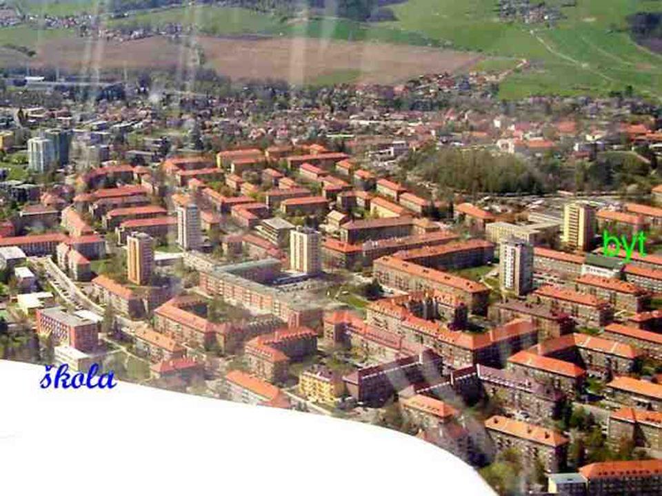 …a jsme nad dalším městem, Příbram VII.- Sídliště, kde jsem bydlel v r. 1961…