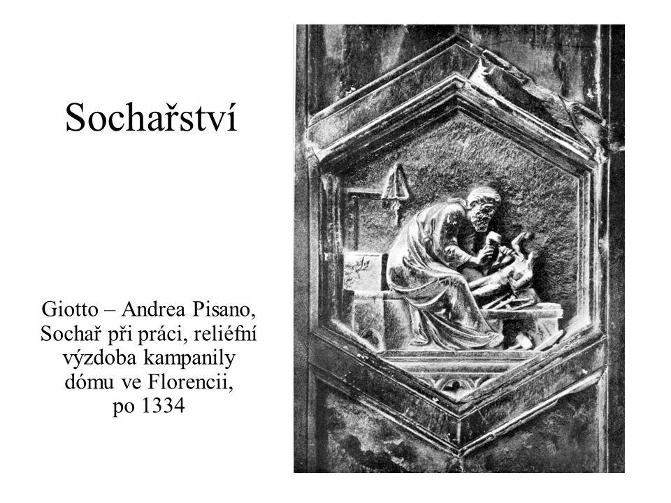 Kategorizace sochařství podle prostorového pojetí: socha, sousoší, reliéf podle funkce: volná díla / díla spojená s architekturou (též pomníky) podle výtvarné techniky: 1) skulptura, 2) plastika, 3) kovotepectví, antická toreutika