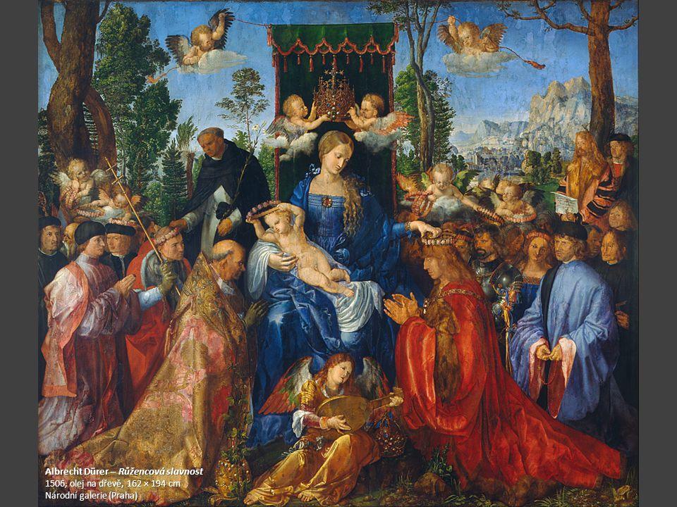 Albrecht Dürer Portrét otce 1491 1491 Olej na dřevě, 51 × 40 cm Olej na dřevě, 51 × 40 cm Národní galerie (Londýn) Národní galerie (Londýn)