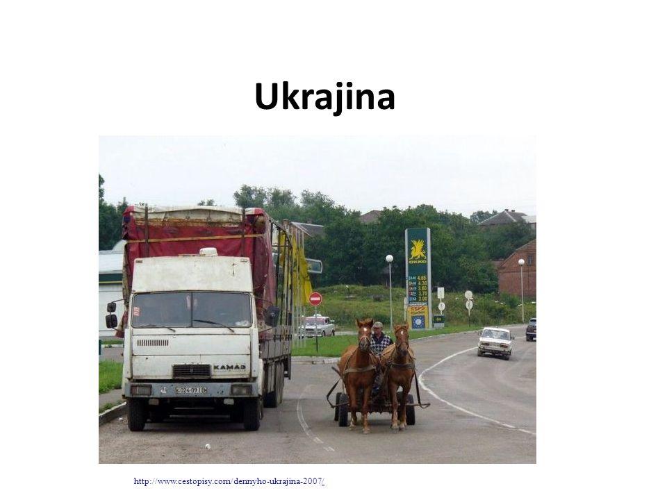 Ukrajina největší stát Evropy (mimo evr.část Ruska) – odpovídá víc jak 7 ČR stát východní Evropy.