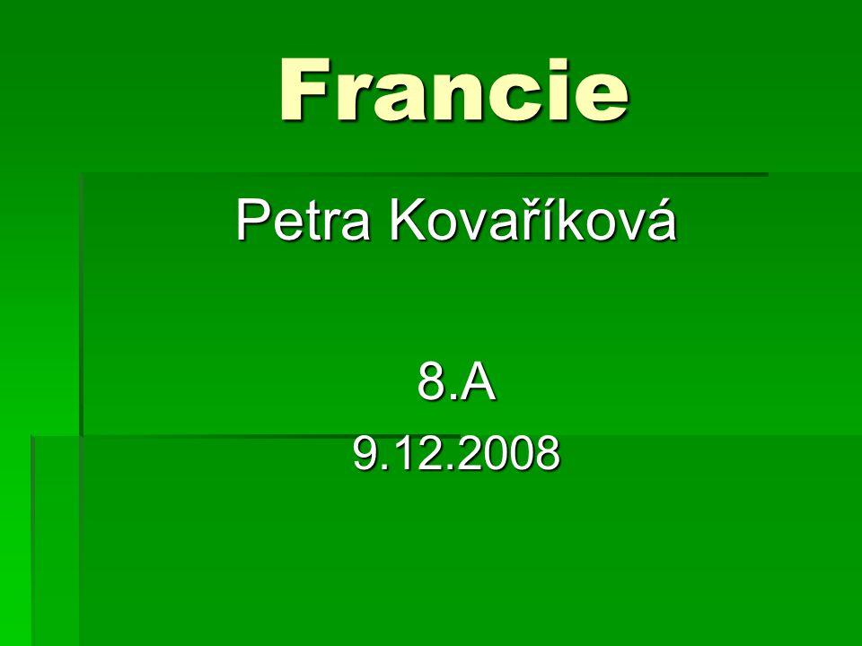 Základní údaje Základní údaje  Oficiální název státu: Francouzská republika  Rozloha: 643 427 km²  Státní zřízení: Poloprezidentská republika