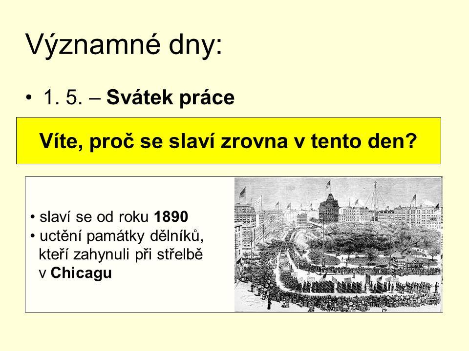 8. 5. – Den vítězství nad nacismem Víte, které armády nás osvobozovaly?