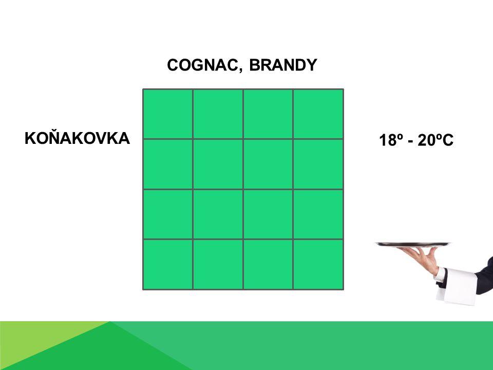 KOŇAKOVKA COGNAC, BRANDY 18º - 20ºC