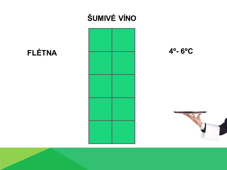 FLÉTNA ŠUMIVÉ VÍNO 4º- 6ºC
