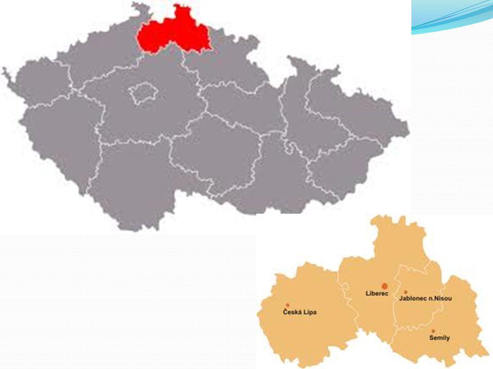 Rozloha: 3 163 km2 Počet obyvatel: 438 600 Nejvyšší bod: Kotel 1 435 m Počet krajů: 4 Historická země: Čechy Znak kraje: