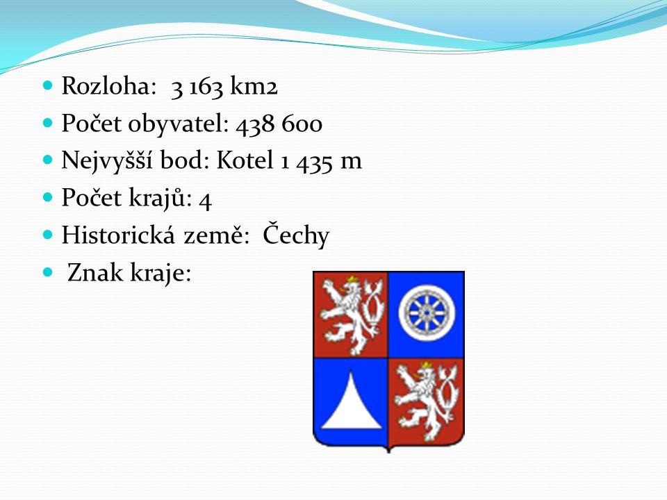Podnebí Patří ke studenějším krajům v ČR.