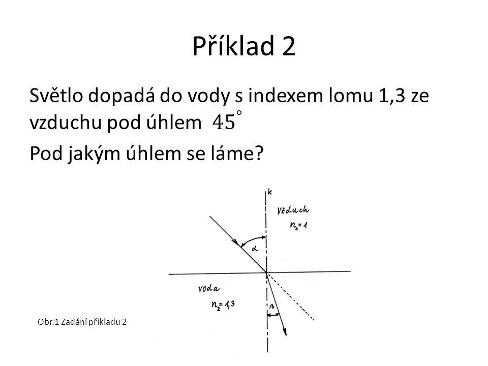 Příklad 2 Obr.1 Zadání příkladu 2