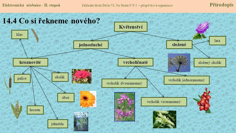 14.5 Procvičení a příklady Elektronická učebnice - II.