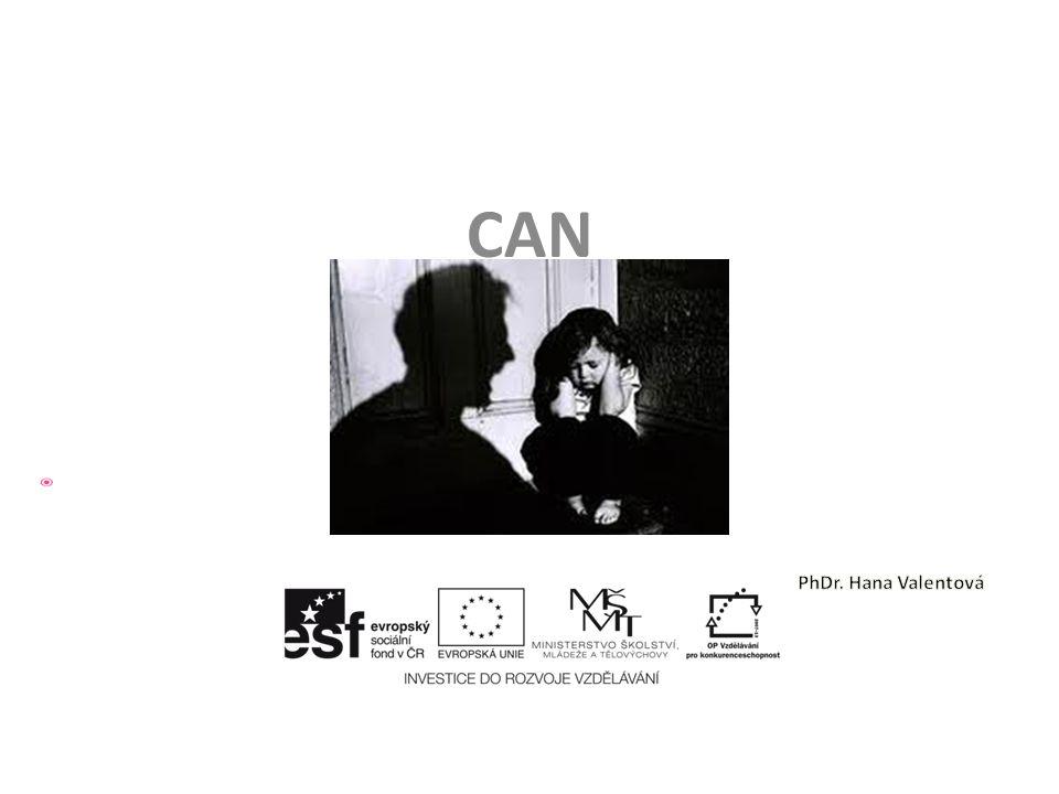 CAN – Sexuální zneužívání Možné následky sex.