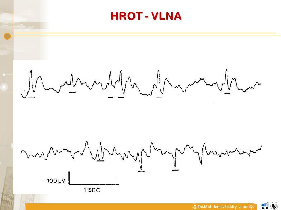 © Institut biostatistiky a analýz HROT - VLNA