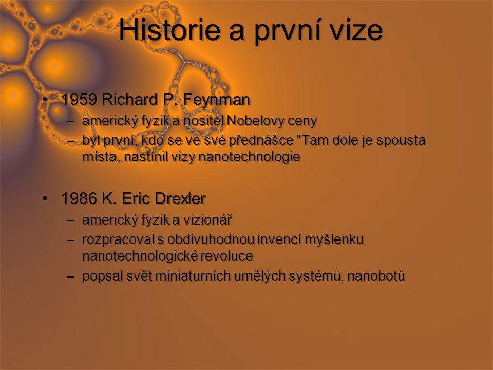 Historie a první vize 1959 Richard P.