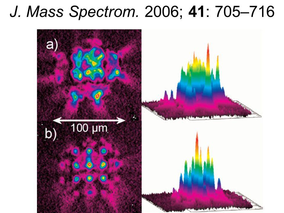 TRENDY HMOTNOSTNÍ SPEKTROMETRIE - 2006 Miniaturizace Příprava vzorku – eliminace práce (DESI a jet-assisted DESI) Nové analyzátory (orbitrap) / iontová optika (zvýšení citlivosti a přesnosti) Mass microscopy: tissue imaging Vysoce-rozlišující metody: elementární složení a moderní disociační techniky