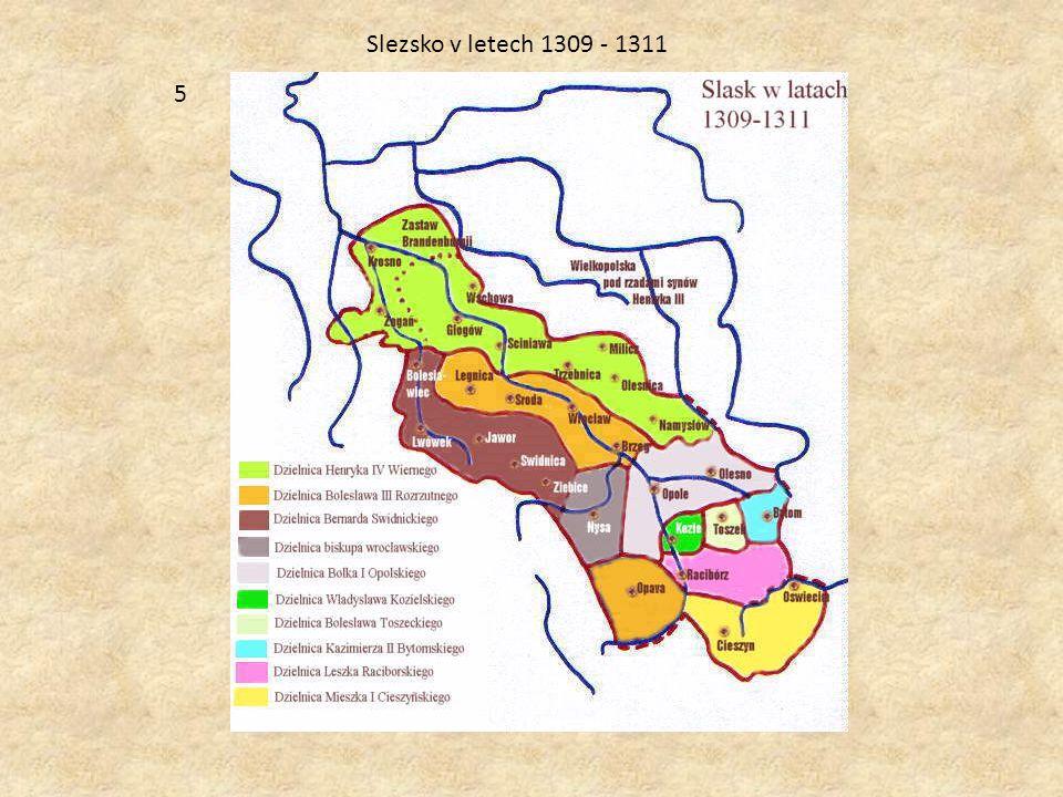 5 Slezsko v letech 1309 - 1311