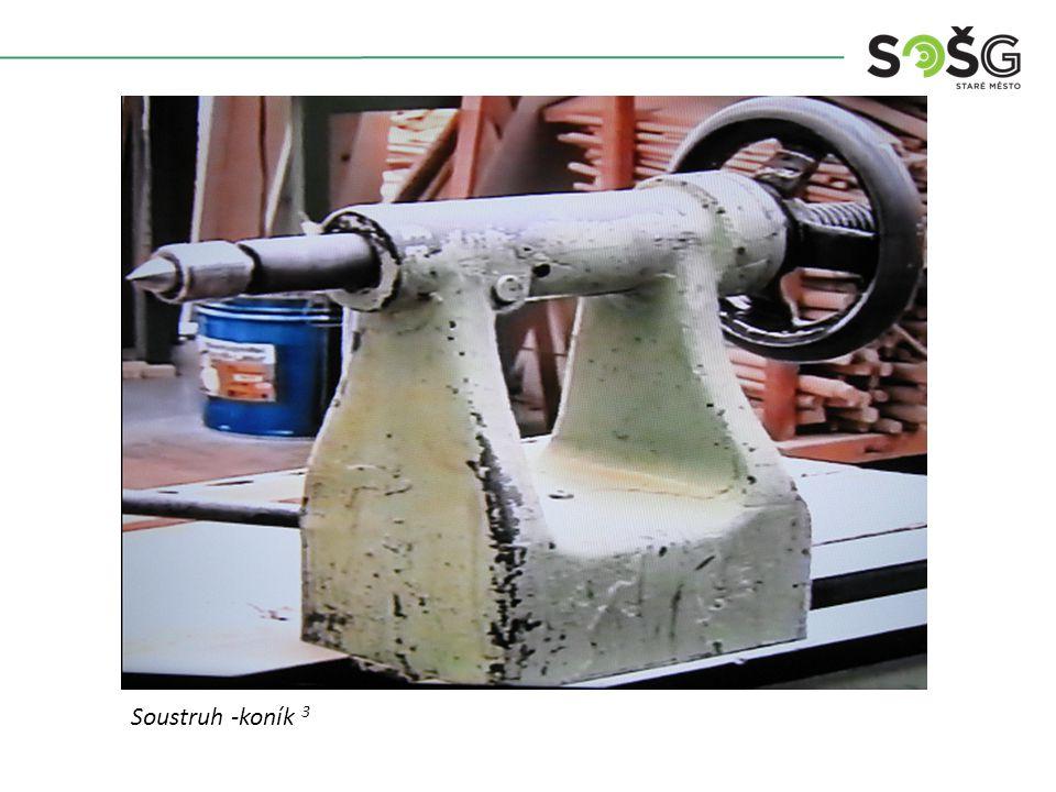 Vícekotoučová rozřezávací pila PWR 201 TOS Svitavy - detailSoustruh -koník 3