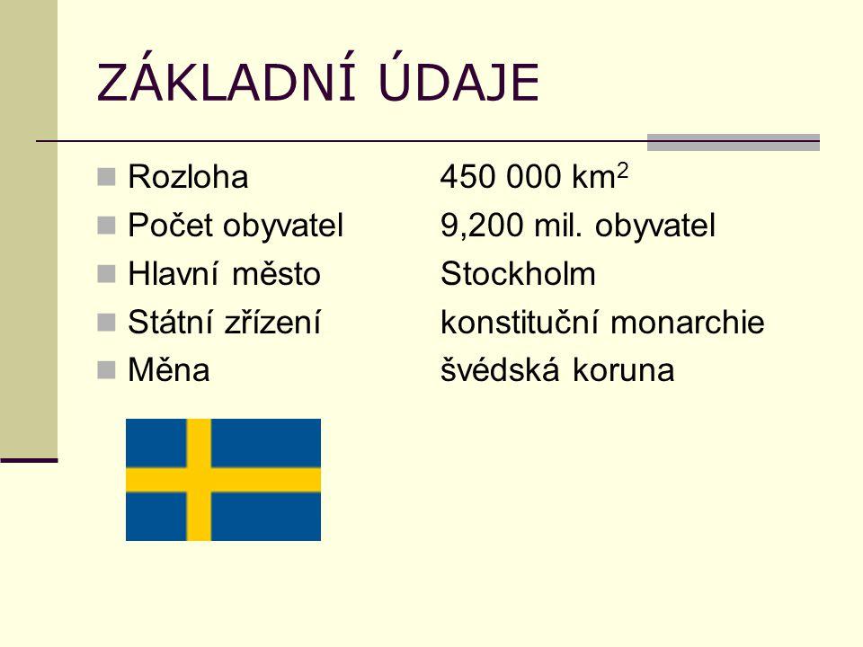 ZÁKLADNÍ ÚDAJE Rozloha450 000 km 2 Počet obyvatel9,200 mil.