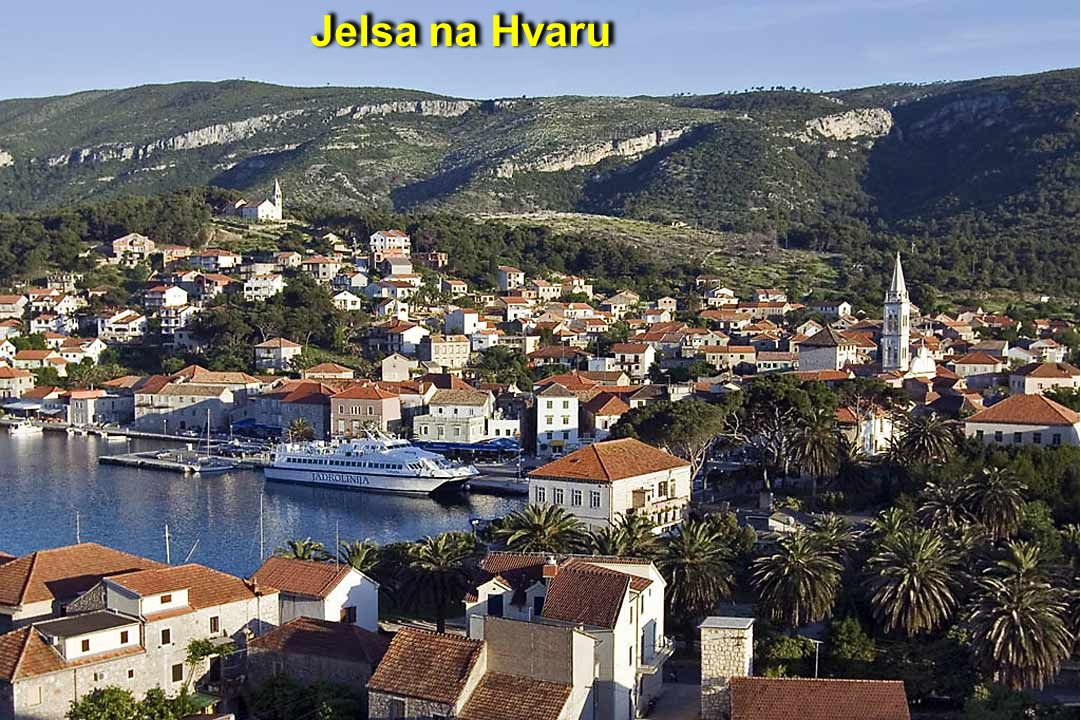 Staré město na Hvaru