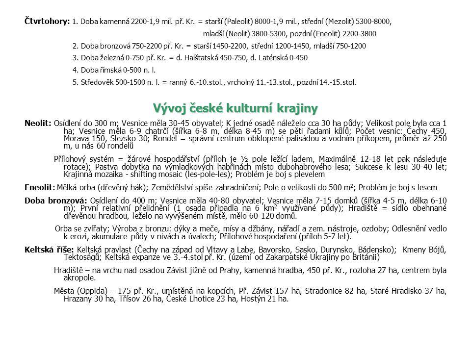 Keltské zemědělství: Zpracování železa a výroba oceli; Použití cínu, mědi, stříbra, zlata; Výroba: korále a náramky ze skla, mince ze zlata a stříbra, meče z oceli, nádoby z mědi a železa; Použití rotačních mlýnských kamenů a hrnčířského kruhu; Travopolní systém je účinné protierozní opatření; Usazení obyvatelstva vedlo ke vzniku stálých sídel a komunikací.
