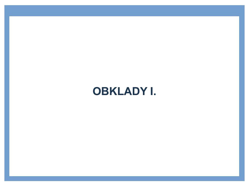 OBKLADY I.